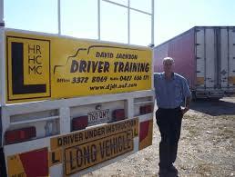 David Jackson Driver Training