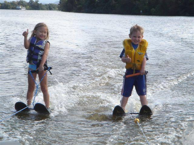 Social Water Skiing